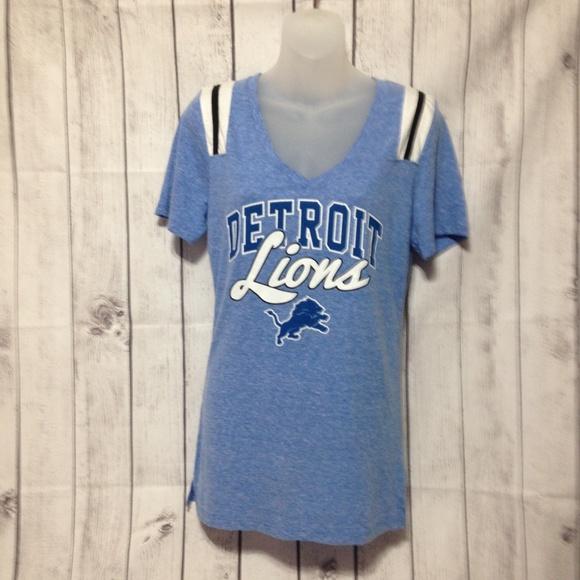 9fe17e4c NFL Team Apparel Detroit Lions Graphic T-Shirt M